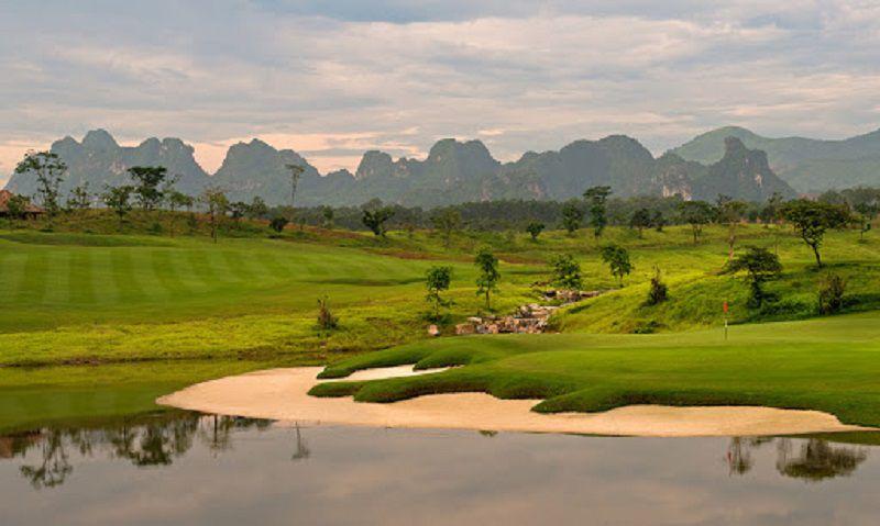 Một sân golf hoàn chỉnh gồm 6 phần