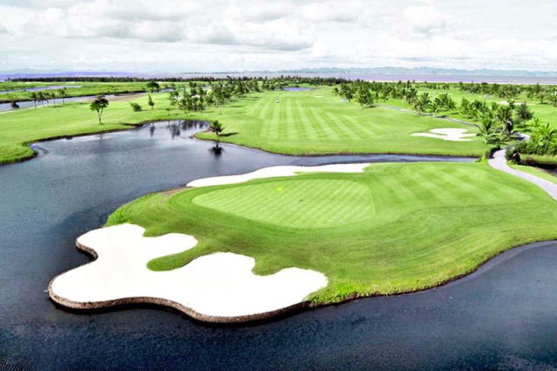 Tổng diện tích của BRG Legend Hill Golf Resort là 126,684ha