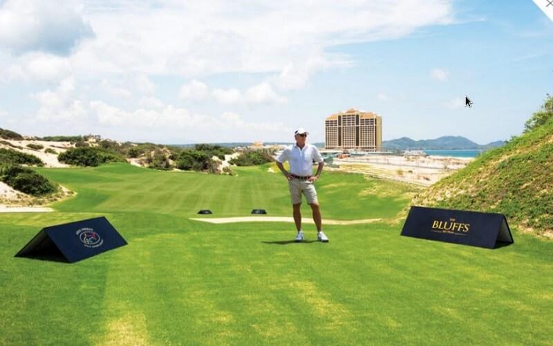 Sân golf Hồ Tràm hiện đang nằm ở xã Phước Thuận, huyện Xuyên Mộc, tỉnh Bà Rịa - Vũng Tàu