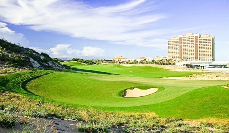 Sân golf hiện có 2 khu vực Putting Green sở hữu kích thước khác nhau
