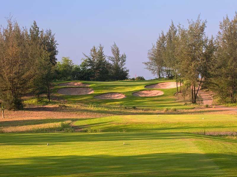 San golf Montgomerie Links Đà Nẵng - sân golf nổi bật nhất miền Trung, cạnh biển