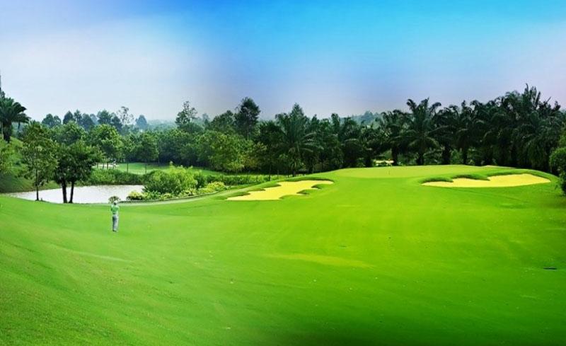 Sân golf Paradise Vũng Tàu có lối thiết kế rất đặc trưng