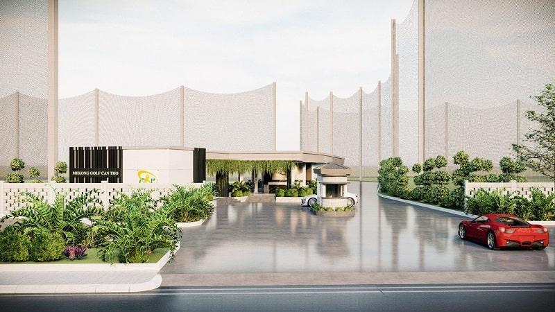 Sân golf MeKong Bình Dương được xây dựng và thiết kế với nhiều cơ sở hạ tầng hiện đại