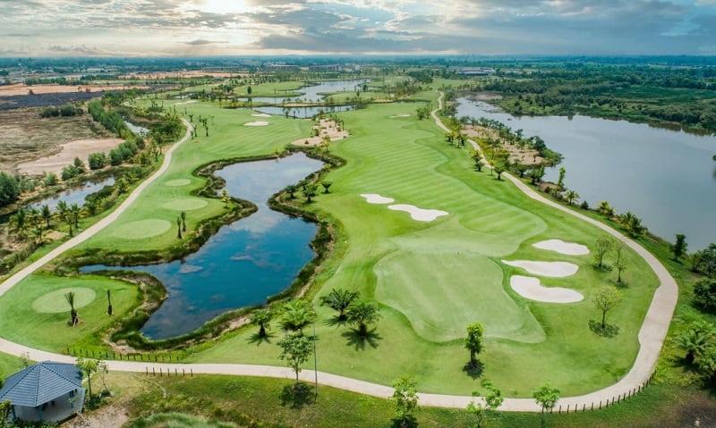 Sân golf Tân Mỹ là địa điểm được đông đảo golfer ưa chuộng.