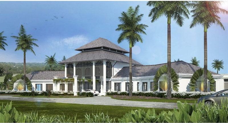 Nơi đây còn có khu nghỉ dưỡng sang trọng, hiện đại và tiện ích
