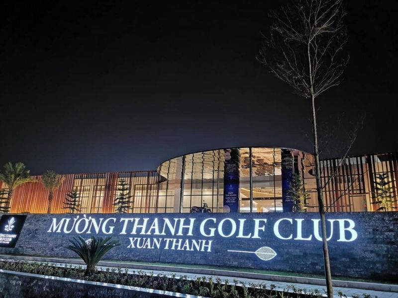 Tại sân golf Diễn Lâm có nhiều dịch vụ tiện ích ấn tượng