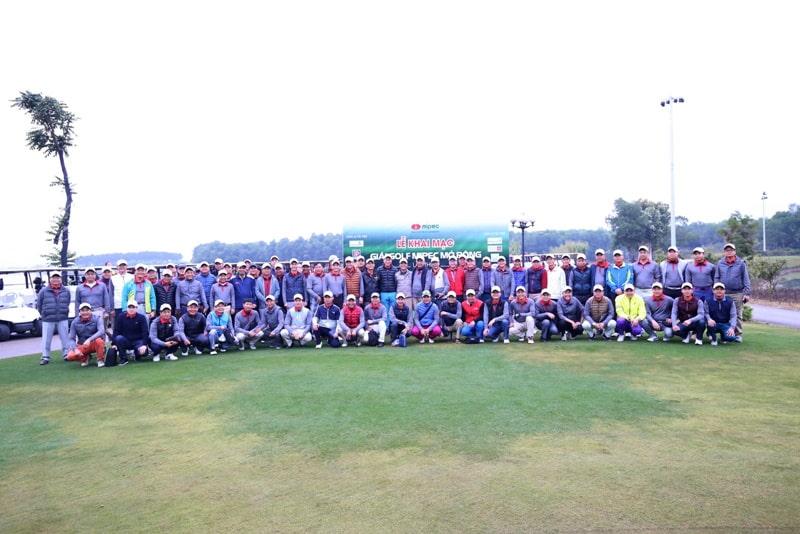 Sân tập golf Mipec thường xuyên được tổ chức những giải thưởng lớn