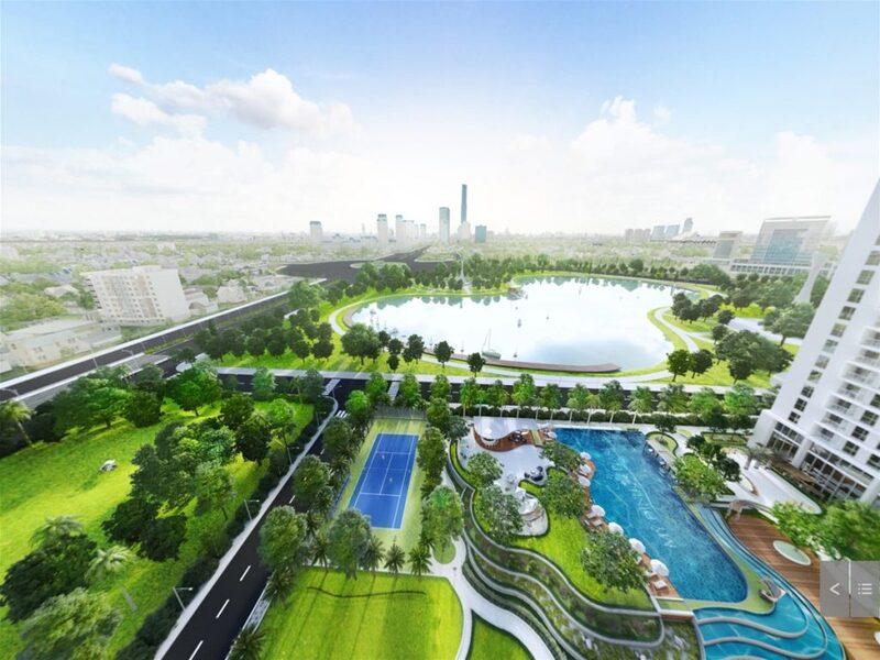 Sân golf Mỹ Đình thuộc phường Phú Đô, quận Nam Từ Liêm, Hà Nội