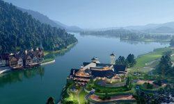 Sân golf Thanh Lanh tọa lạc bên hồ Thanh Lanh êm đềm